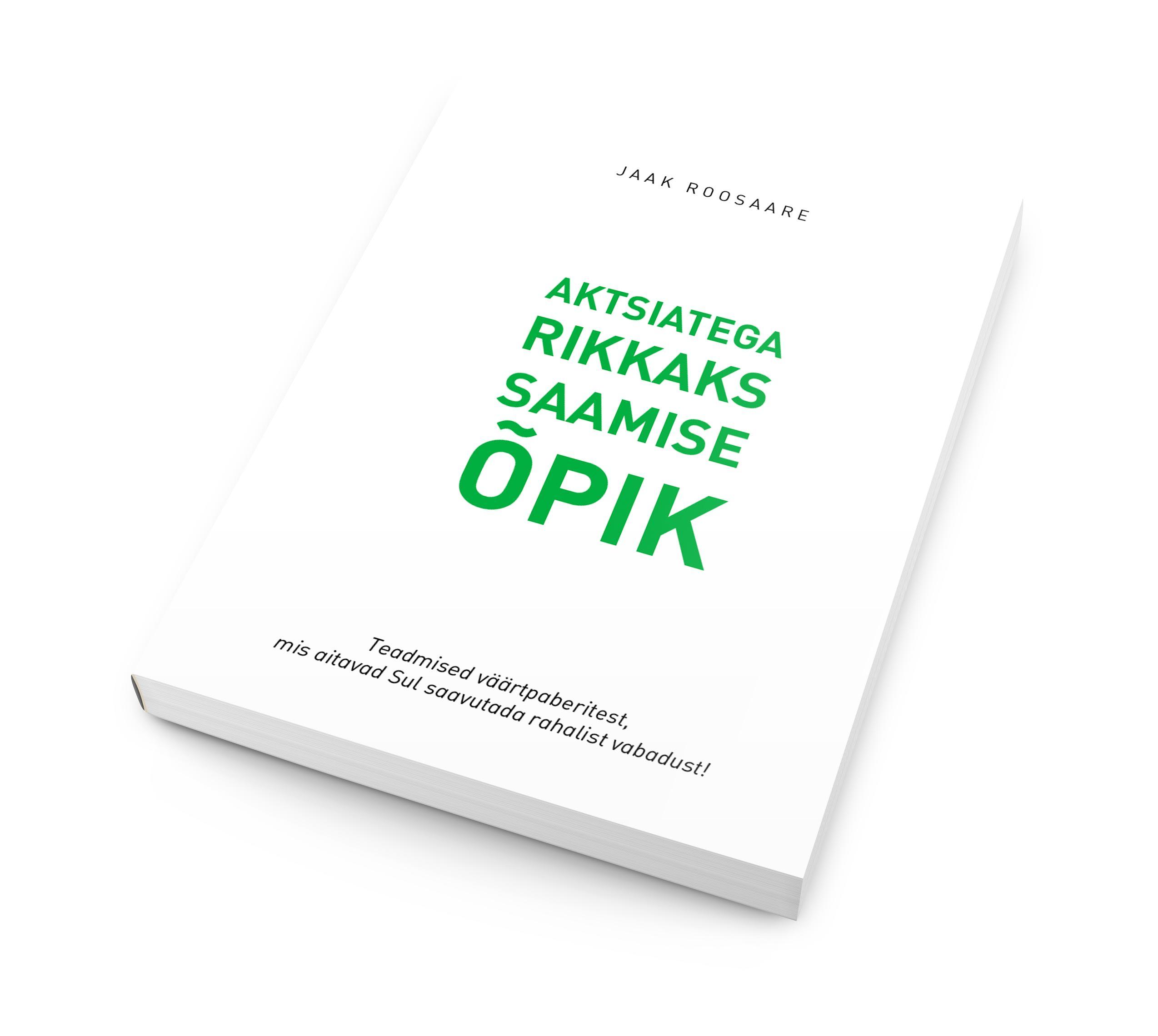 Aktsiatega Rikkaks Saamise e-raamat